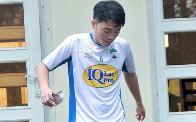 Xuân Trường đã có mặt tại Hàm Rồng, lao vào tập thể lực trước trận gặp Hà Nội FC
