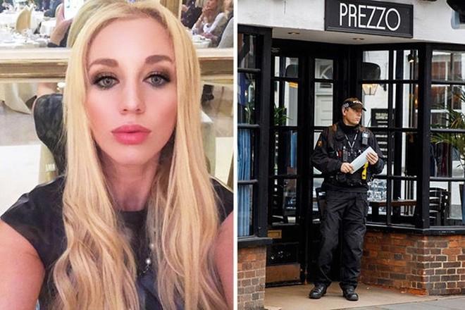 Ảnh: Cô người mẫu nóng bỏng Shapiro tố bị tình báo Nga đầu độc ở Anh - Ảnh 2.