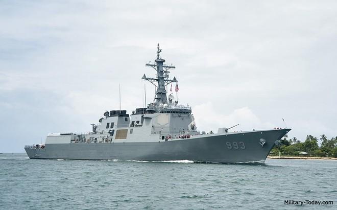 Ảnh: Sức mạnh đáng gờm của tàu khu trục Sejong Đại đế - Ảnh 2.