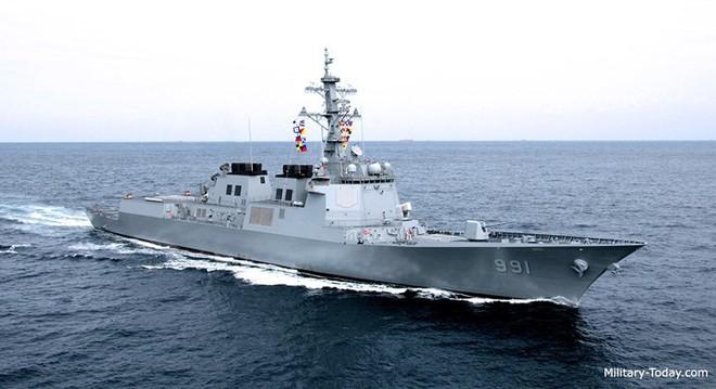 Ảnh: Sức mạnh đáng gờm của tàu khu trục Sejong Đại đế - Ảnh 3.