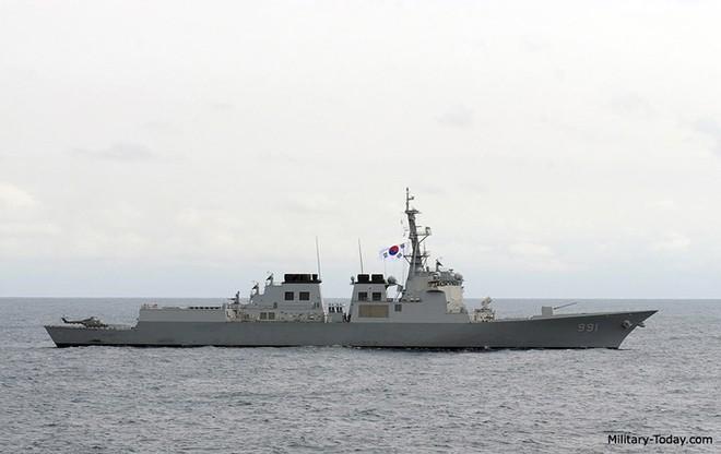 Ảnh: Sức mạnh đáng gờm của tàu khu trục Sejong Đại đế - Ảnh 4.