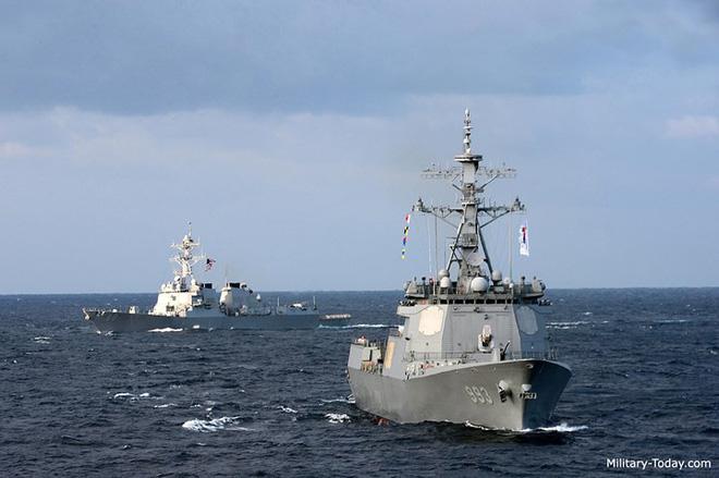 Ảnh: Sức mạnh đáng gờm của tàu khu trục Sejong Đại đế - Ảnh 5.