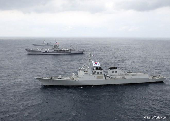 Ảnh: Sức mạnh đáng gờm của tàu khu trục Sejong Đại đế - Ảnh 7.