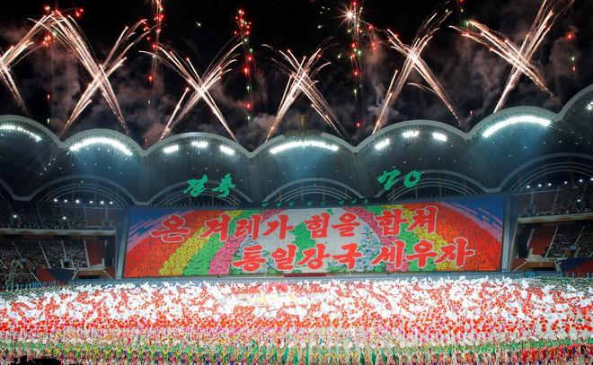 Khoảnh khắc lịch sử: Lần đầu tiên một Tổng thống Hàn Quốc phát biểu trước biển người Triều Tiên - Ảnh 5.
