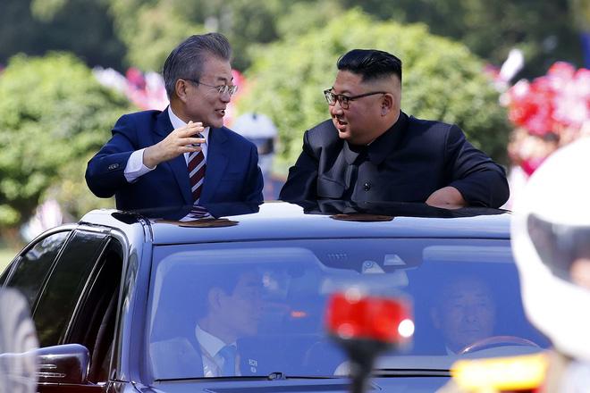 Khoảnh khắc đi vào lịch sử: Những sự kiện chưa từng có tiền lệ trong chuyến thăm Triều Tiên - Ảnh 6.