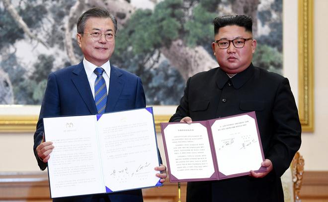 Khoảnh khắc đi vào lịch sử: Những sự kiện chưa từng có tiền lệ trong chuyến thăm Triều Tiên - Ảnh 9.
