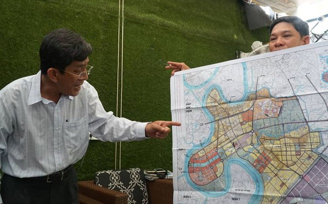 TP HCM công bố việc xử lý sai phạm ở khu đô thị mới Thủ Thiêm - Ảnh 1.
