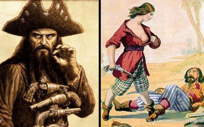 """Sự thật kỳ lạ về cướp biển: Đeo bịt mắt không phải vì chột, có cả """"bảo hiểm y tế"""" ngàn đô"""