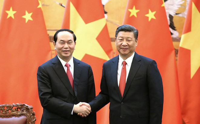 Ông Tập Cận Bình: Chủ tịch nước Trần Đại Quang là nhà lãnh đạo xuất sắc