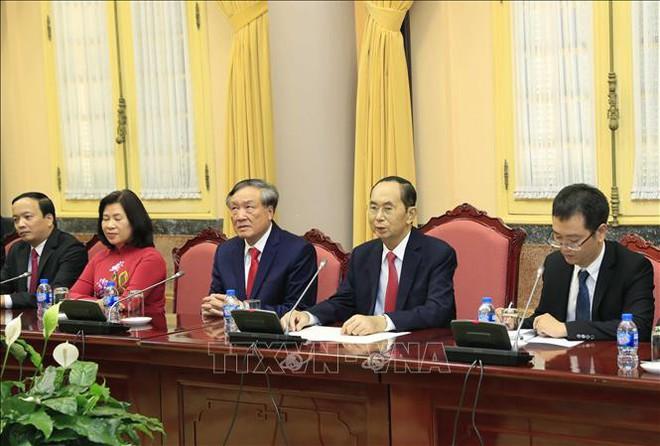 Hình ảnh những ngày làm việc cuối cùng của Chủ tịch nước Trần Đại Quang - Ảnh 8.