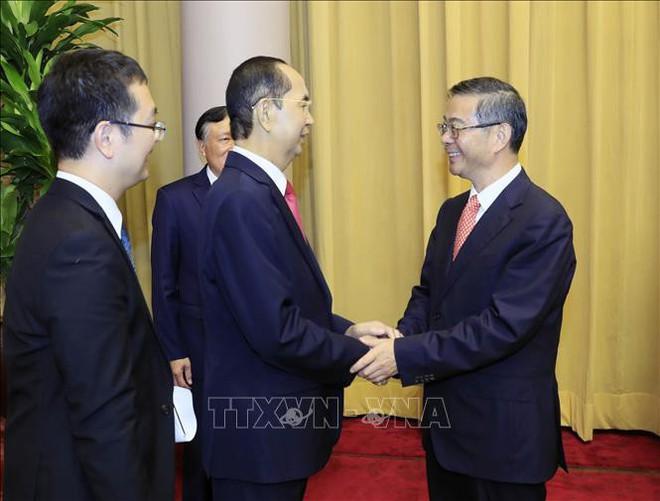 Hình ảnh những ngày làm việc cuối cùng của Chủ tịch nước Trần Đại Quang - Ảnh 9.