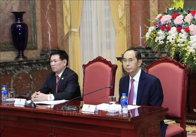 Hình ảnh những ngày làm việc cuối cùng của Chủ tịch nước Trần Đại Quang - Ảnh 6.