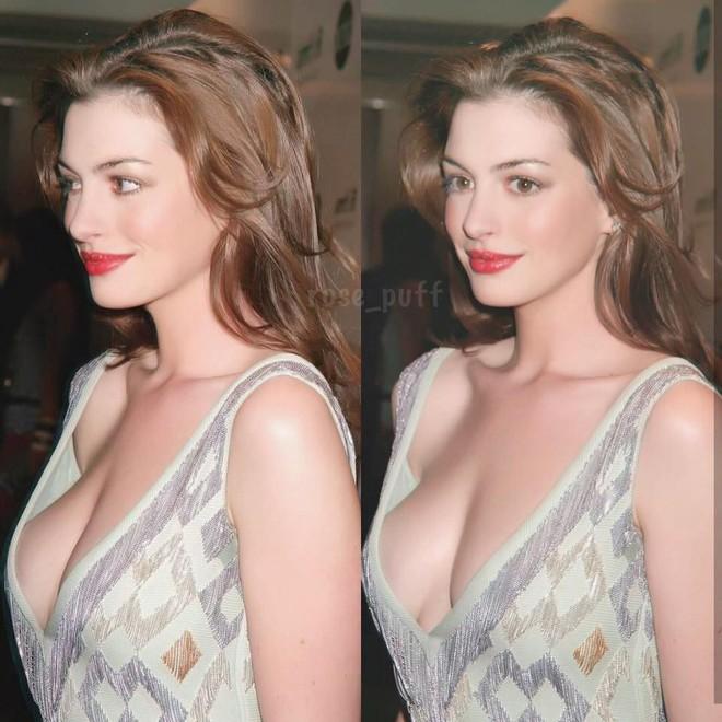 10X xinh đẹp bỗng phải nhận rắc rối từ trên trời rơi xuống chỉ vì được khen giống Anne Hathaway - Ảnh 2.