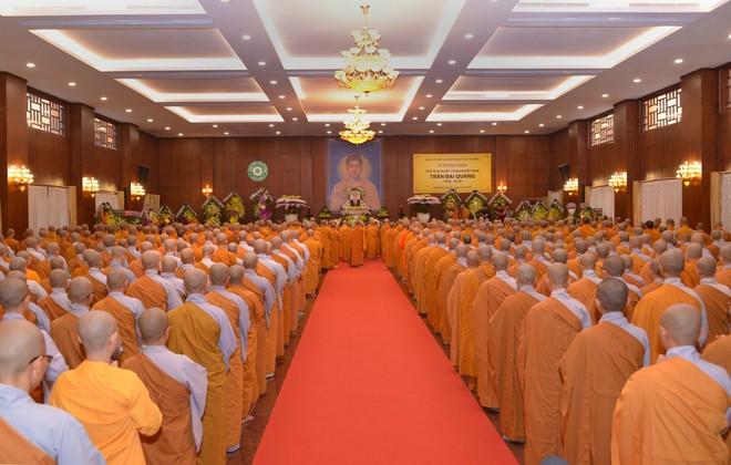 Tăng ni, phật tử TP HCM cầu nguyện, tưởng niệm Chủ tịch nước Trần Đại Quang - Ảnh 1.