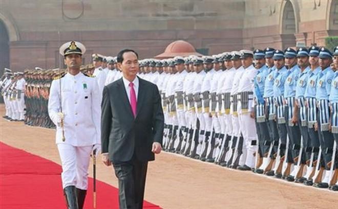 Brazil gửi lời chia buồn việc Chủ tịch nước Trần Đại Quang từ trần