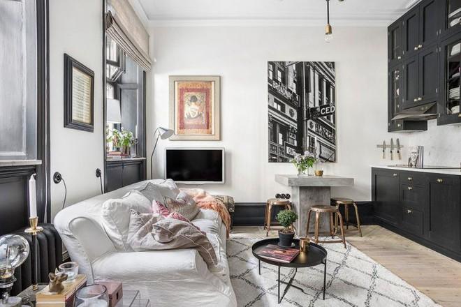 Cải tạo từ tầng trệt cũ, căn hộ 28m2 được hồi sinh, đẹp từng centimet - Ảnh 4.