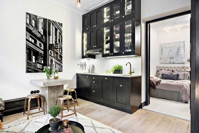 Cải tạo từ tầng trệt cũ, căn hộ 28m2 được hồi sinh, đẹp từng centimet - Ảnh 1.