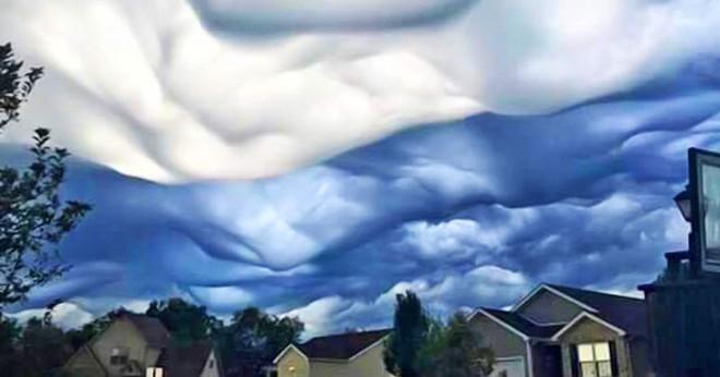 Những đám mây kỳ quặc có thể bạn không tin vào mắt mình - Ảnh 9.