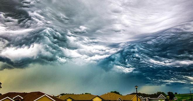 Những đám mây kỳ quặc có thể bạn không tin vào mắt mình - Ảnh 13.