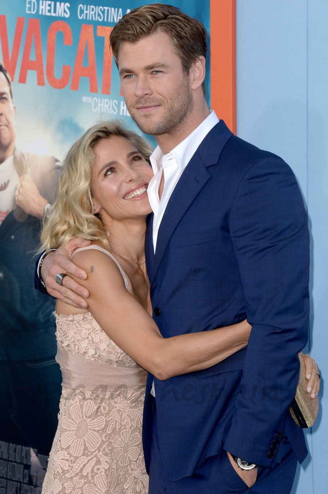 Vợ của Thor Chris Hemsworth dằn mặt mỹ nhân 50 Sắc Thái vì lo bị giật chồng? - Ảnh 2.