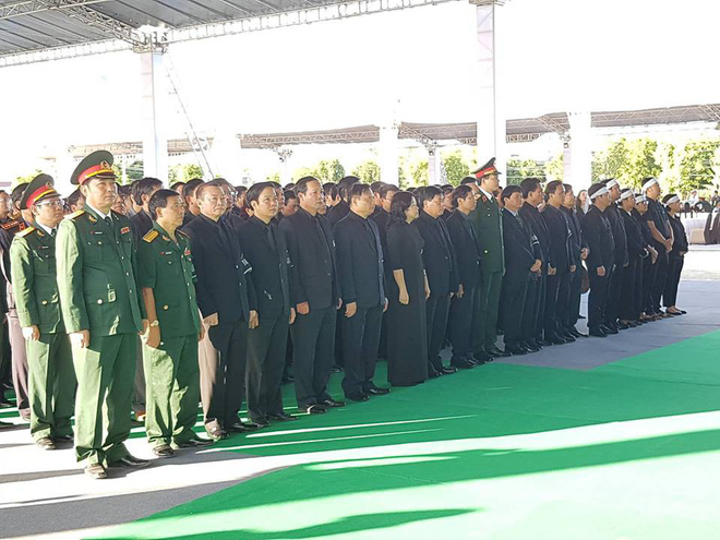 Hình ảnh lễ viếng Chủ tịch nước Trần Đại Quang tại quê nhà - Ảnh 11.