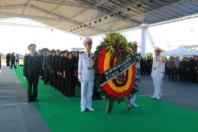 Hình ảnh lễ viếng Chủ tịch nước Trần Đại Quang tại quê nhà - Ảnh 9.