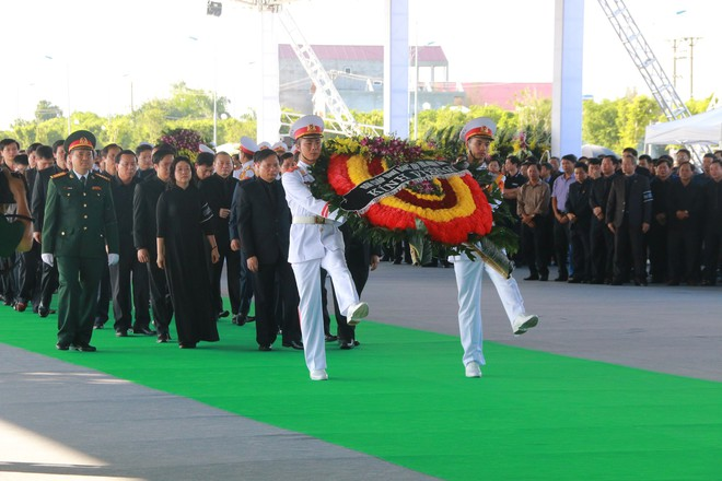 Hình ảnh lễ viếng Chủ tịch nước Trần Đại Quang tại quê nhà - Ảnh 4.