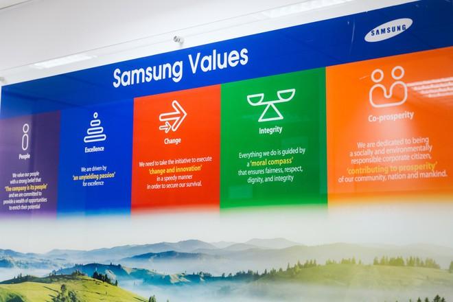 Giải mã những nơi làm việc tốt nhất Việt Nam: Cận cảnh văn phòng tuyệt đẹp của Samsung Việt Nam - Ảnh 2.