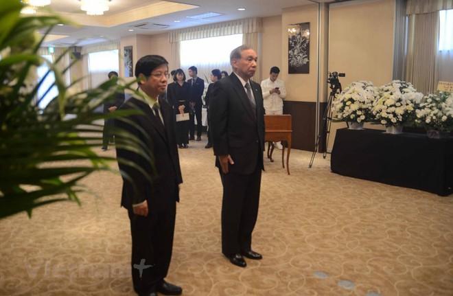Hình ảnh Lễ viếng Chủ tịch nước Trần Đại Quang tại Nhật Bản - Ảnh 1.