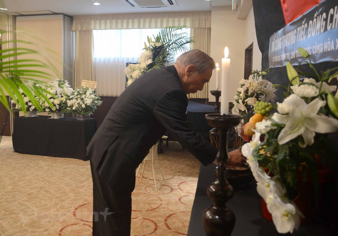 Hình ảnh Lễ viếng Chủ tịch nước Trần Đại Quang tại Nhật Bản - Ảnh 2.