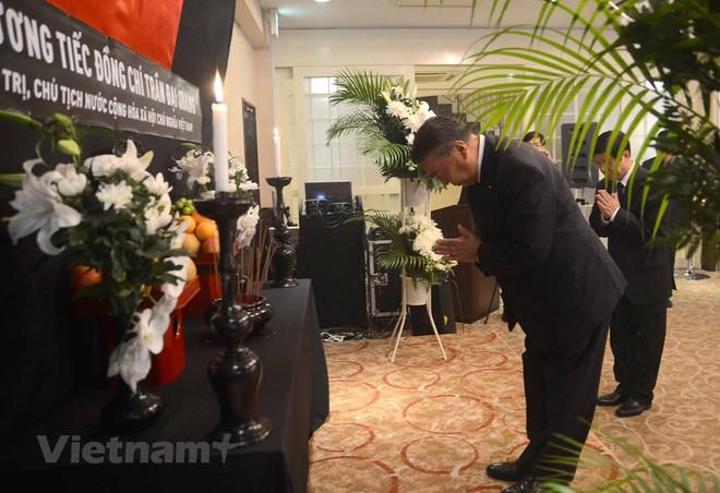 Hình ảnh Lễ viếng Chủ tịch nước Trần Đại Quang tại Nhật Bản - Ảnh 3.