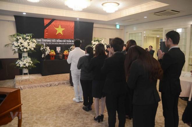 Hình ảnh Lễ viếng Chủ tịch nước Trần Đại Quang tại Nhật Bản - Ảnh 4.