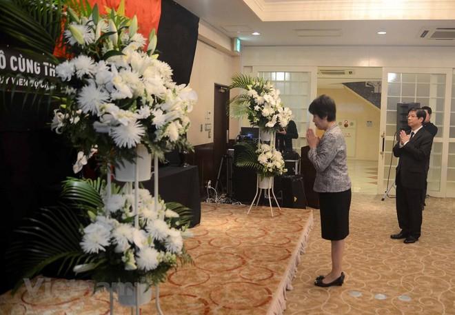 Hình ảnh Lễ viếng Chủ tịch nước Trần Đại Quang tại Nhật Bản - Ảnh 6.