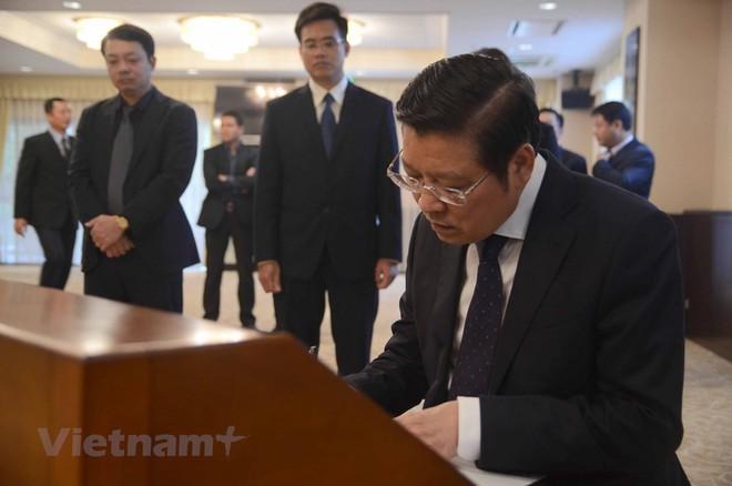 Hình ảnh Lễ viếng Chủ tịch nước Trần Đại Quang tại Nhật Bản - Ảnh 7.