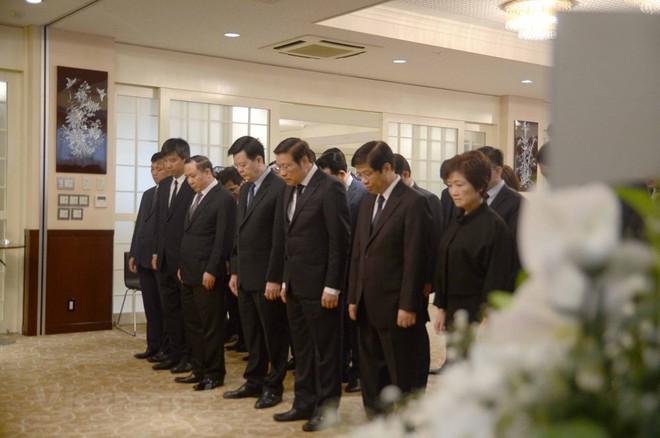 Hình ảnh Lễ viếng Chủ tịch nước Trần Đại Quang tại Nhật Bản - Ảnh 8.