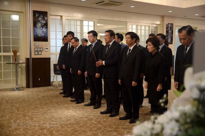 Hình ảnh Lễ viếng Chủ tịch nước Trần Đại Quang tại Nhật Bản - Ảnh 9.