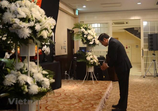 Hình ảnh Lễ viếng Chủ tịch nước Trần Đại Quang tại Nhật Bản - Ảnh 10.