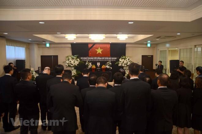 Hình ảnh Lễ viếng Chủ tịch nước Trần Đại Quang tại Nhật Bản - Ảnh 11.