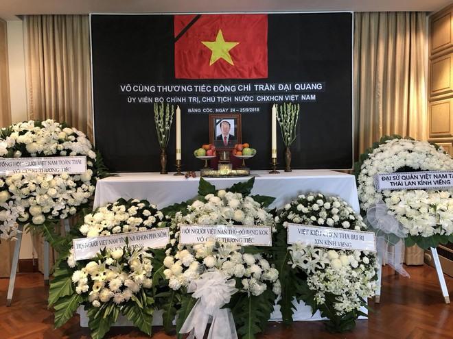 Thủ tướng Thái Lan Prayut Chan-ocha viếng cố Chủ tịch nước Trần Đại Quang - Ảnh 7.