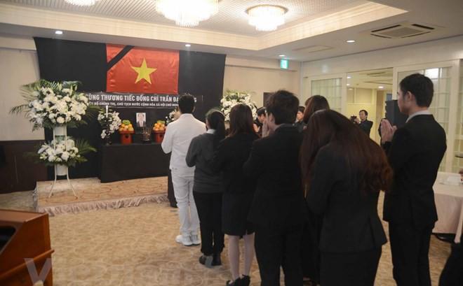 Đại sứ quán Việt Nam tại Nhật Bản tổ chức lễ viếng Chủ tịch nước