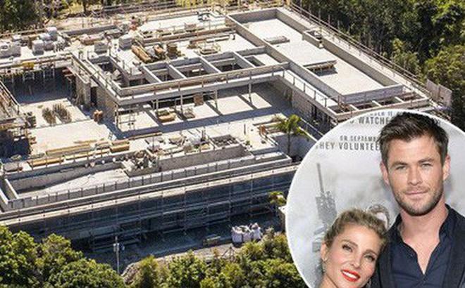 """""""Thor"""" Chris Hemsworth xây nhà ở khổng lồ như trung tâm mua sắm, khiến hàng xóm xung quanh bức xúc"""