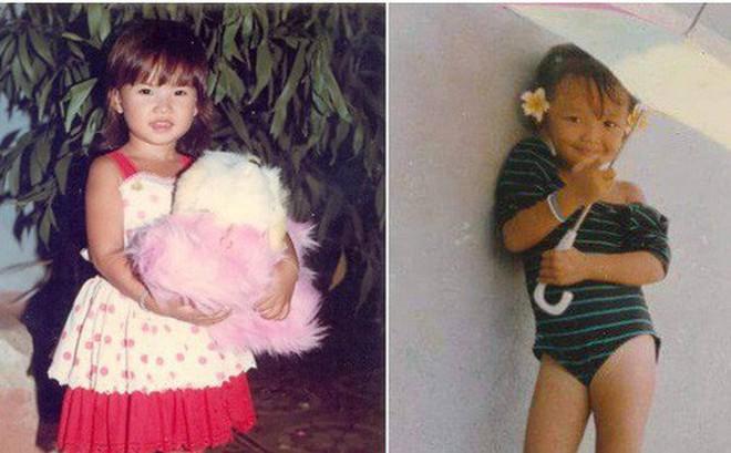"""Ngắm ảnh thời thơ ấu của sao Việt: Người đáng yêu, người gây bất ngờ với ngoại hình """"hai lúa"""""""