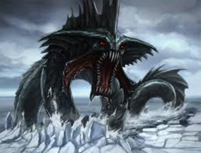 Ẩn số loài rồng biển mang thông điệp lạ từ cung điện Hải vương - Ảnh 1.