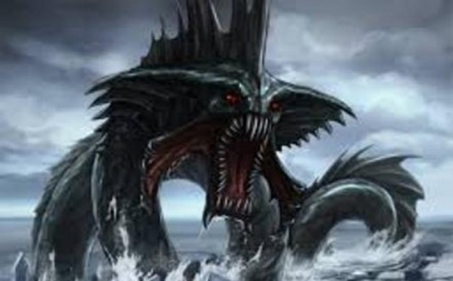 Ẩn số loài rồng biển mang thông điệp lạ từ cung điện Hải vương