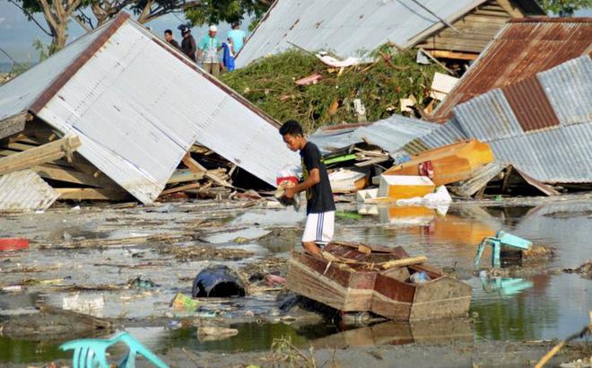 Ảnh: Indonesia tan hoang sau thảm họa động đất, sóng thần