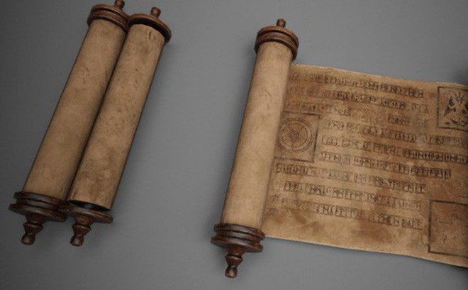Thiết bị di động màn hình cảm ứng này trông chẳng khác gì các văn thư cổ
