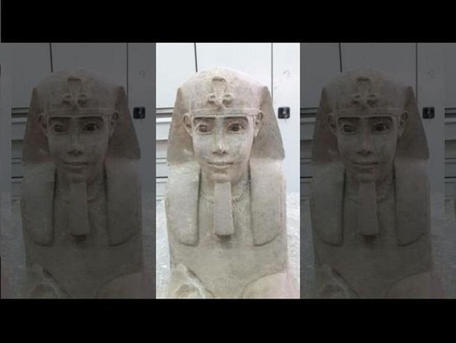 Tượng nhân sư tuyệt đẹp được phát hiện tại ngôi đền Ai Cập cổ đại - Ảnh 5.