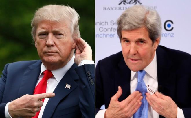 Tổng thống Trump 'mỉa mai' việc ông John Kerry chạy đua vào Nhà Trắng năm 2020