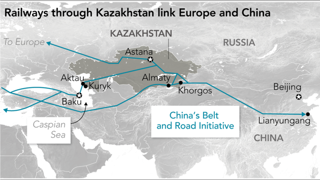 Quốc gia nóng bỏng nhất Trung Á: Nga-Mỹ giành nhau, Trung Quốc nhảy vào chia phần - Ảnh 4.