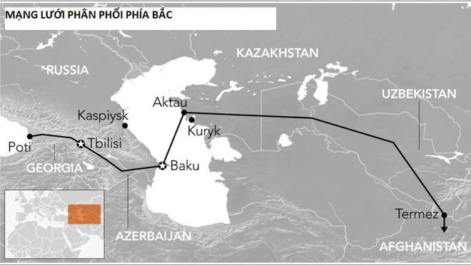 Quốc gia nóng bỏng nhất Trung Á: Nga-Mỹ giành nhau, Trung Quốc nhảy vào chia phần - Ảnh 2.